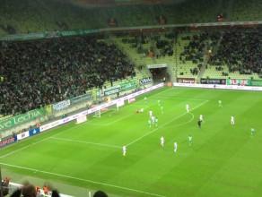Zwycięski gol Antonio Colaka w meczu z Górnikiem Zabrze 1:0