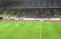 Doping na meczu Lechia - Górnik