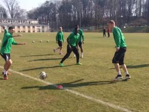 Zobacz jak Grzegorz Wojtkowiak pracuje na treningach Lechii Gdańsk