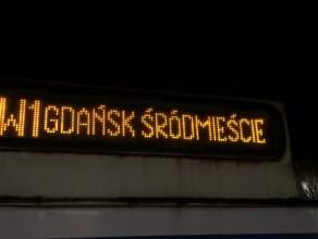 Pierwsza SKM-ka odjechała z przystanku Śródmieście