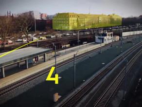 Film promujący przystanek Gdańsk Śródmieście