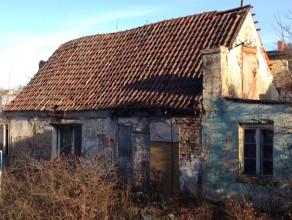 Zabornia. Opuszczony stary budynek