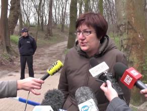 Prokurator po oględzinach miejsca zbrodni w Brzeźnie