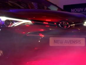 Przedpremierowy show Toyoty Avensis
