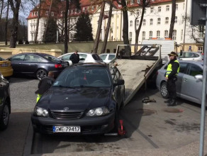 Tak się kończy parkowanie na miejscu dla niepełnosprawnych