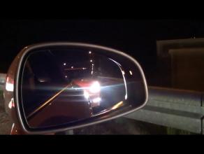 Nissan GT-R Nismo bierze udział w wyścigu na obwodnicy