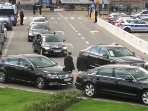 Auta z głowami państw podjeżdżają pod ECS
