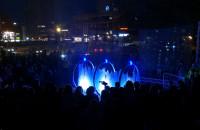 Cztery nastroje fontanny na Placu Heweliusza