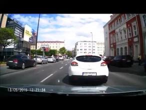 Jak nie zachowywać się na skrzyżowaniu