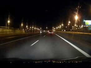 Prawidłowe oznakowanie/oświetlenie prac drogowych