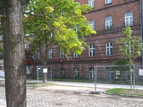 Opuszczone budynki na Dolnym Mieście