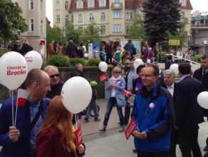Marsz poparcia dla Bronisława Komorowskiego