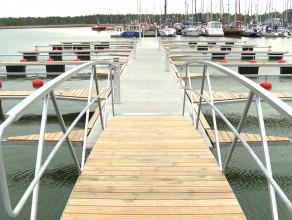 Otwarcie rozbudowanej mariny Narodowego Centrum Żeglarstwa