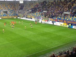 Tak Zagłębie Lubin objęło prowadzenie w meczu z Arką w Gdyni