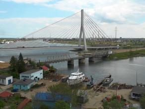 Tak powstaje most kolejowy na Martwej Wiśle