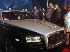 Rolls-Royce Wraith zaprezentowany w Teatrze Szekspirowskim
