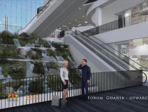 Wizualizacja Forum Gdańsk