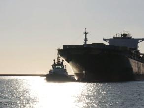 Kontenerowiec MSC Charleston wpłynął do portu w Gdyni