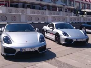 Wystawa aut Porsche w Sopocie