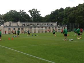 Pierwszy trening Lechii przed sezonem 2015/2016