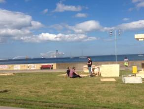 Ratownictwo morskie w akcji w Gdyni