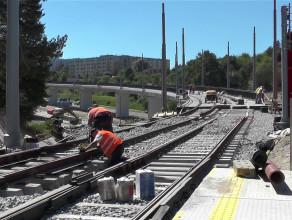 Budowa tramwaju na Morenę na finiszu