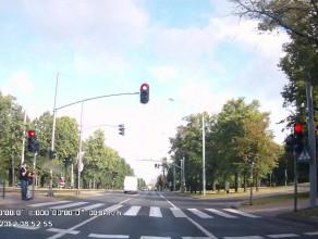 """""""Bezpieczny transport"""" na czerwonym"""