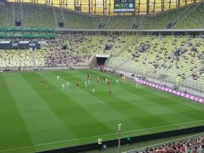 Grzegorz Wojtkowiak nie wykorzystał szansy na gola w meczu z Wolfsburgiem