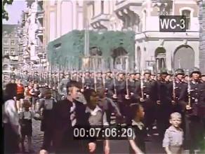 Gdańsk w okresie II wojny światowej w kolorze