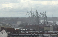 Szklana pogoda w Gdańsku