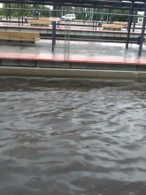 Zalana ul. Morska w Gdyni