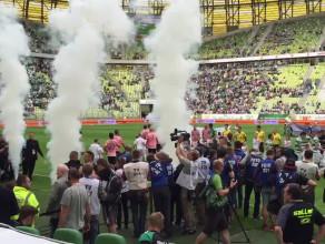 Lechia i Juventus wychodzą na murawę