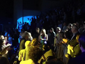 Candy Dulfer bawi się z publicznością