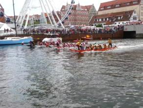 Siła! Walka! czyli wyścigi smoczych łodzi na Motławie