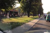 Awaria trakcji tramwajowej we Wrzeszczu
