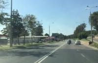 """Policja """"suszy"""" z ukrycia na Trakcie św. Wojciecha"""