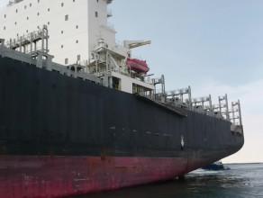 Wpłynięcie MSC Asya do gdyńskiego portu