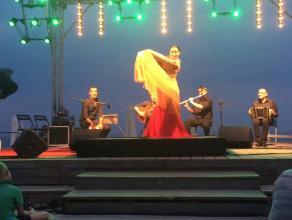 Wieczór flamenco na sopockiej plaży