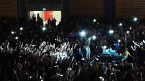 Lenny Kravitz wśród publiczności