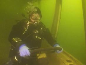 Tor podwodny bazy nurkowej Tryton