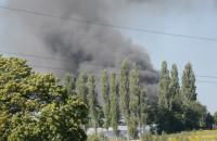 Słup dymu nad Borkowem