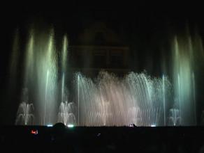 Spektakl z fontanną podczas festiwalu Mozartiana 2015