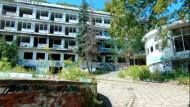 Opuszczone sanatorium Zdrowie w Orłowie