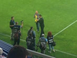 Podziękowanie dla Bartosza Ławy za lata gry w Arce Gdynia