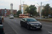 Przejazd prezydenta Dudy przez Gdańsk