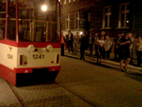 Tramwaj symbolicznie powrócił na Dolne Miasto