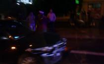 Wypadek na ul. Morskiej w Gdyni
