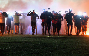 Nocny Runmageddon Rekrut 2015
