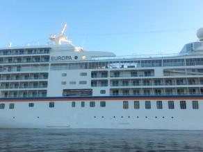 Prom pasażerski Europa zawitał do Gdańska