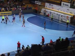 Ostatnia akcja meczu Vistal Gdynia - Selgros Lublin 20:21